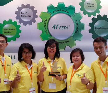Indonesisches Messeteam der Ildex 2015